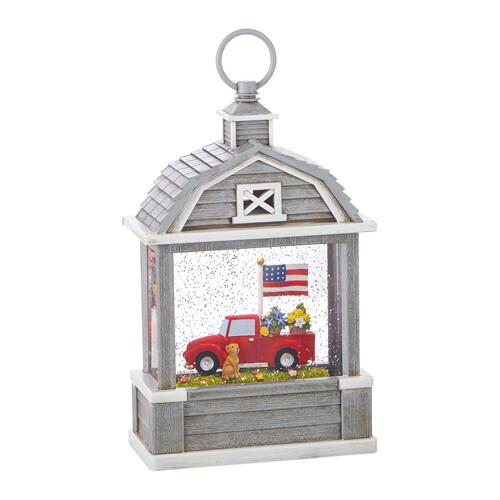 Truck & Dog Lantern