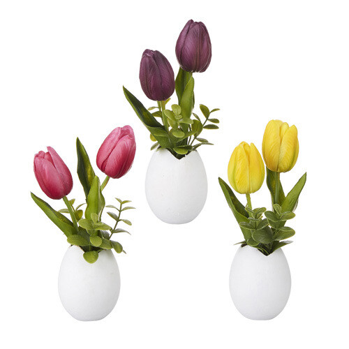 Tulip w/ Egg Arrangement