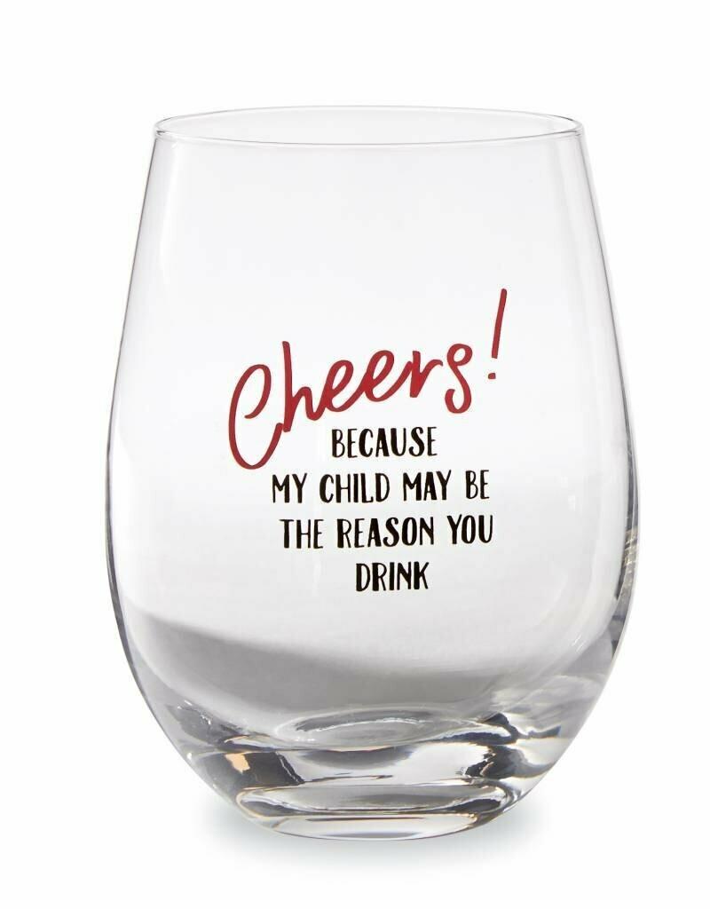 Teacher Stemless Glass