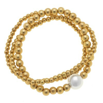 Juni Pearl Ball Bracelet