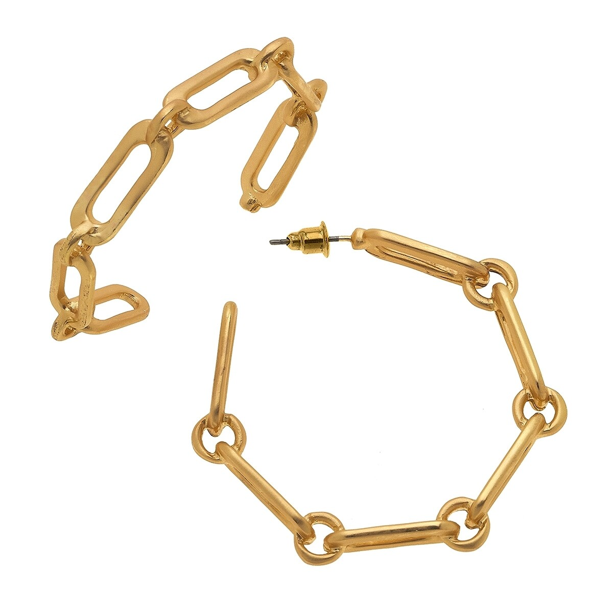 Nora Chain Link Earrings