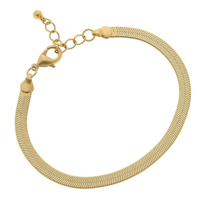 Natalie Herringbone Bracelet