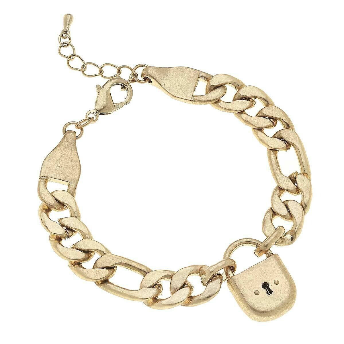 Whitney Padlock Bracelet