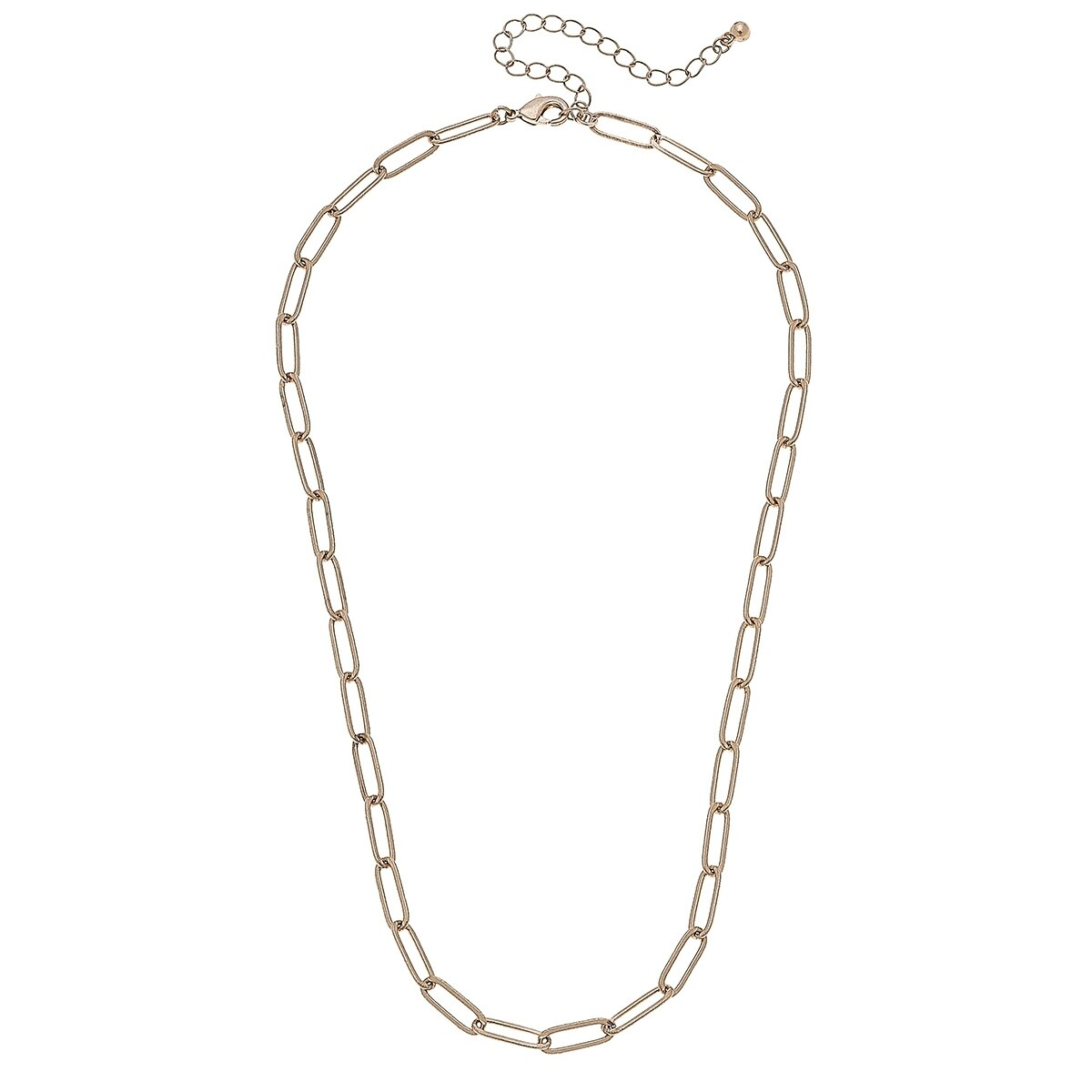 Elodie Paperclip Chain Necklace