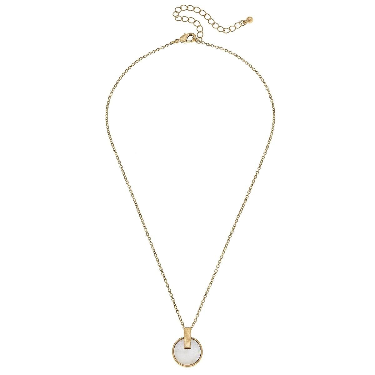 Siena Disc Necklace