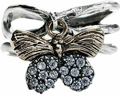 Natural Beauties Ring Butterfly size 8