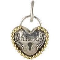 Heartlock Charm - Friend