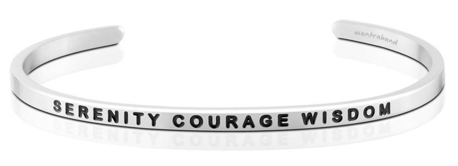 MantraBand - Serenity Courage Wisdom