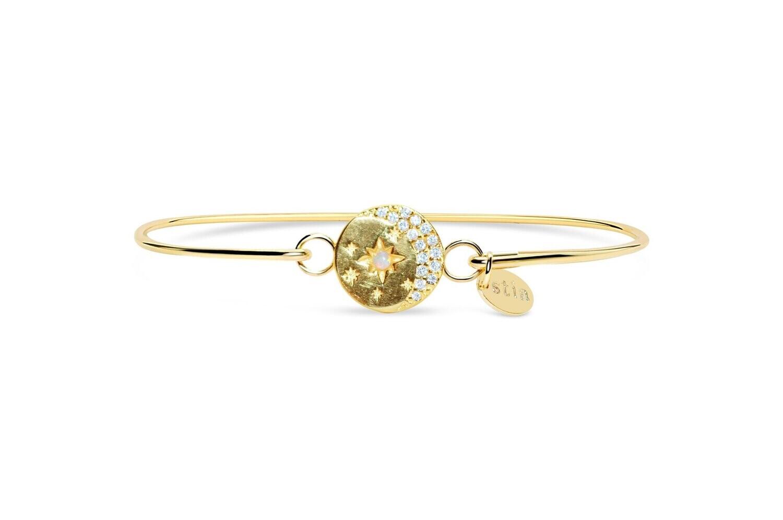 Pave Icon Bracelet- Celestial Gold