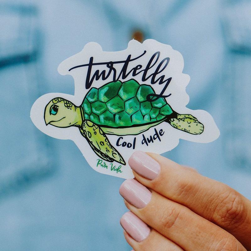 Turtely Sticker