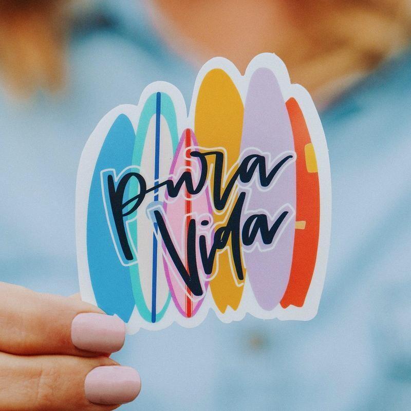 PV Sticker Surfboards