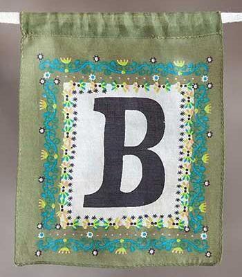Letter Flag - B