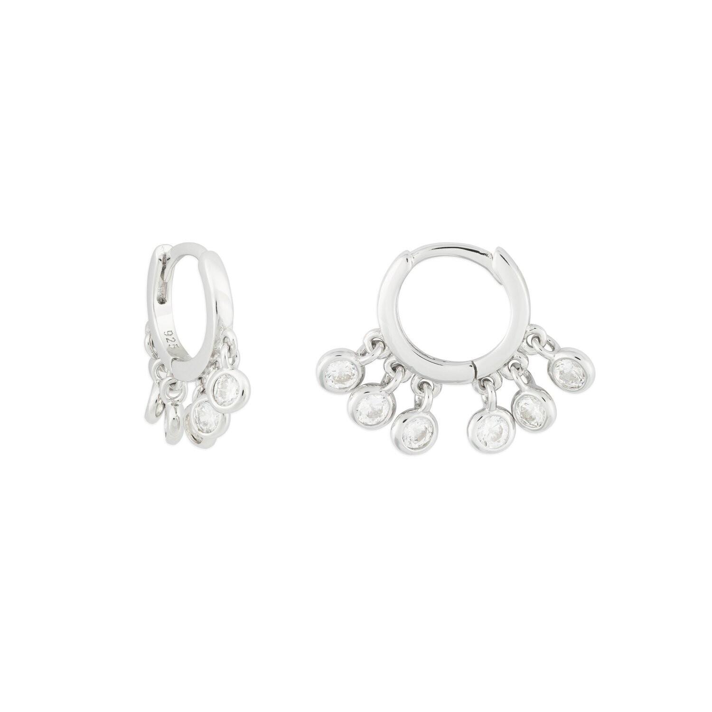 Florence Shaker Huggie Earring