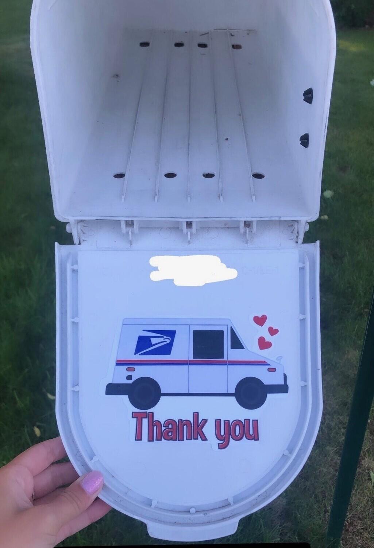 Postal Worker Stickers
