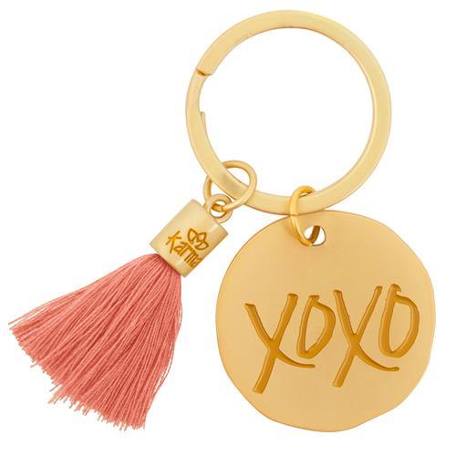 Round Tassel Keychain