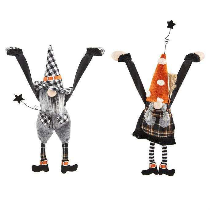 Dangle Arm Halloween Gnomes