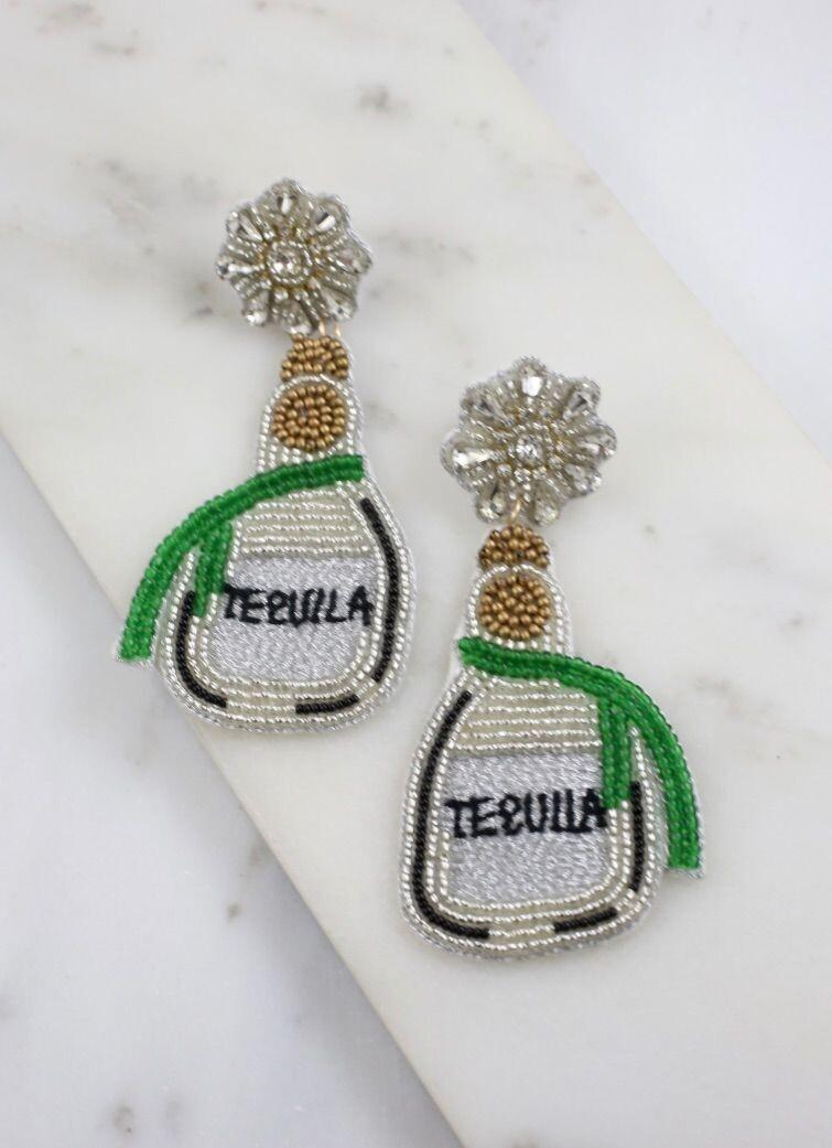Tequila Beaded Earrings