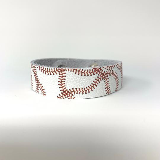 Skinny Cuff - Baseball