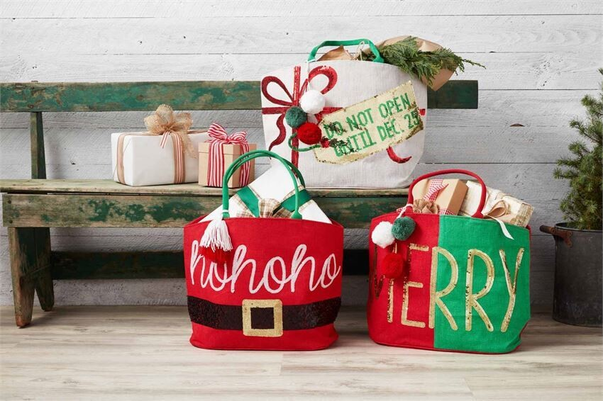 Christmas Dazzle Totes