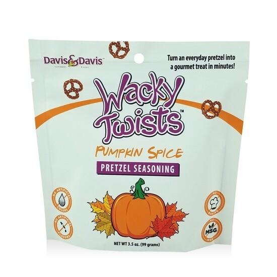 Pumpkin Spice Wacky Twists