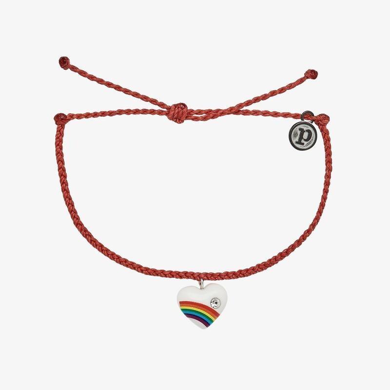 Vintage Heart Red Bracelet