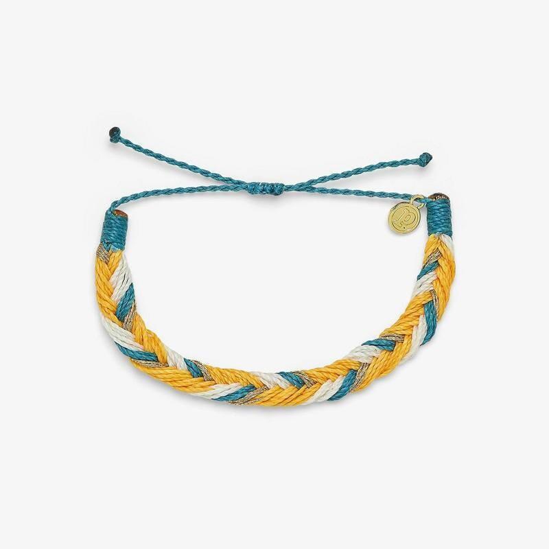 Fishtail Braid Gold Bracelet
