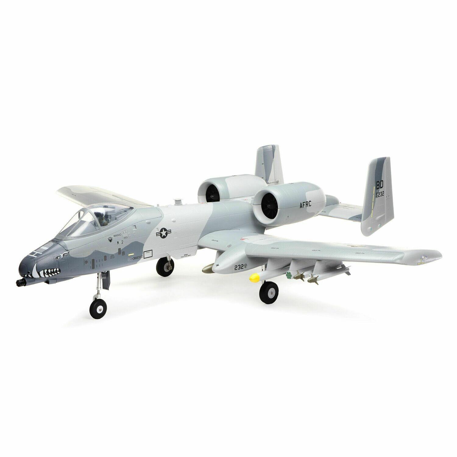 A-10 Thunderbolt II 64mm EDF BNF Basic AS3X w/SAFE