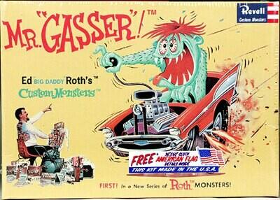 1/25 Ed Big Daddy Roth Mr. Gasser Car w/Monster