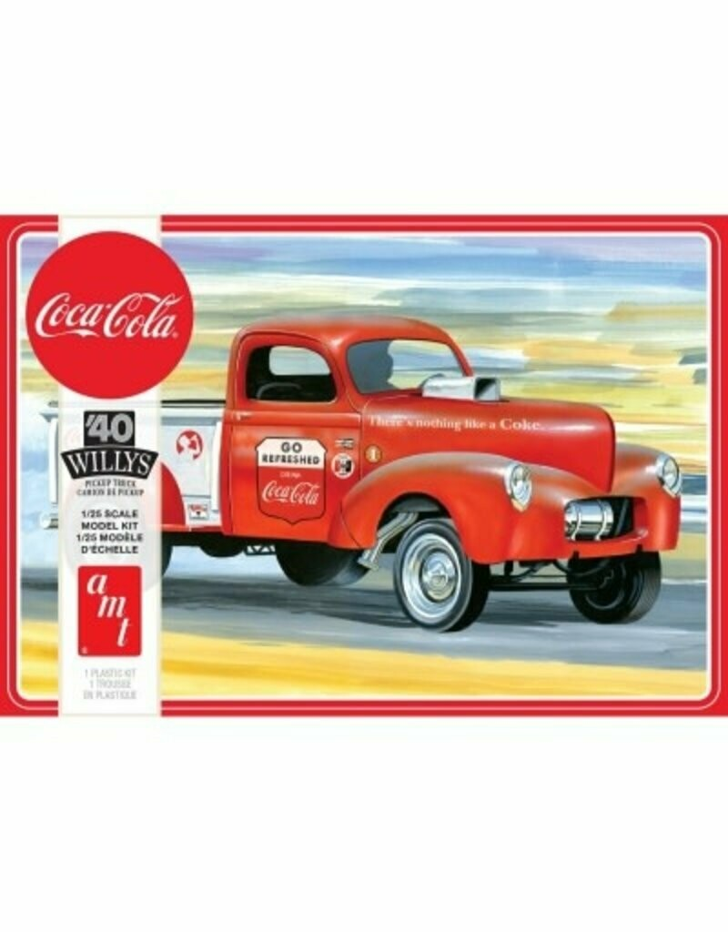 1/25 1940 Willys Pickup Gasser, Coca Cola 2T