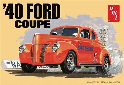 1/25 1940 Ford Coupe 2T