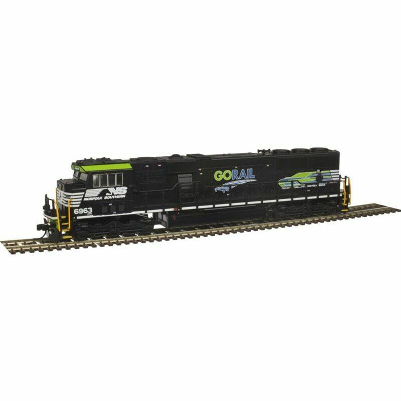N SD60E w/DCC & Sound, NS/GORail #6963