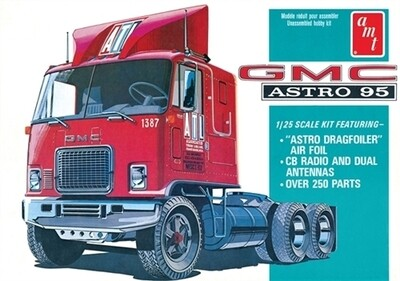 1/25 GMC Astro 95 Semi Tractor