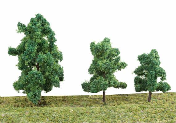 """Summer Trees 3 3/8"""" 10"""
