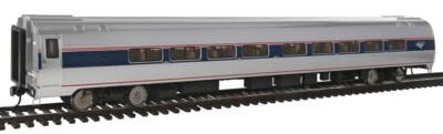 85' Amfleet II 59-Seat Coach - Ready To Run -- Amtrak(R) Phase VI (Travelmark)