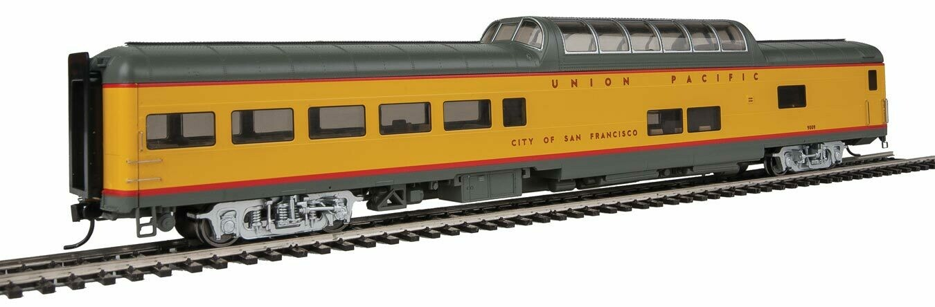 85' ACF Dome Lounge Union Pacific(R) Heritage Fleet - Ready to Run - Lighted -- UPP #9009 City of San Francisco