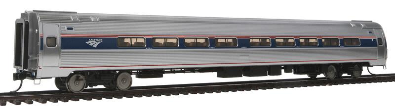 85' Amfleet I 84-Seat Coach - Ready To Run -- Amtrak(R) Phase VI (Travelmark)