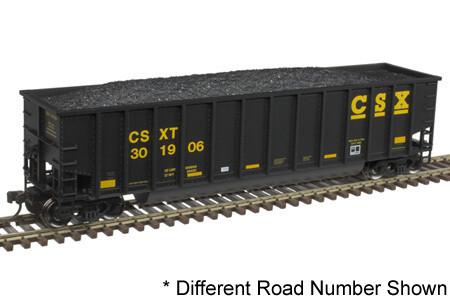 HO Trainman Aluminum Coal Gondola, CSX #300906