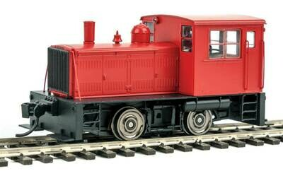 Plymouth ML-8 Industrial Switcher - DCC only -- Painted, Unlettered with Decals (red)