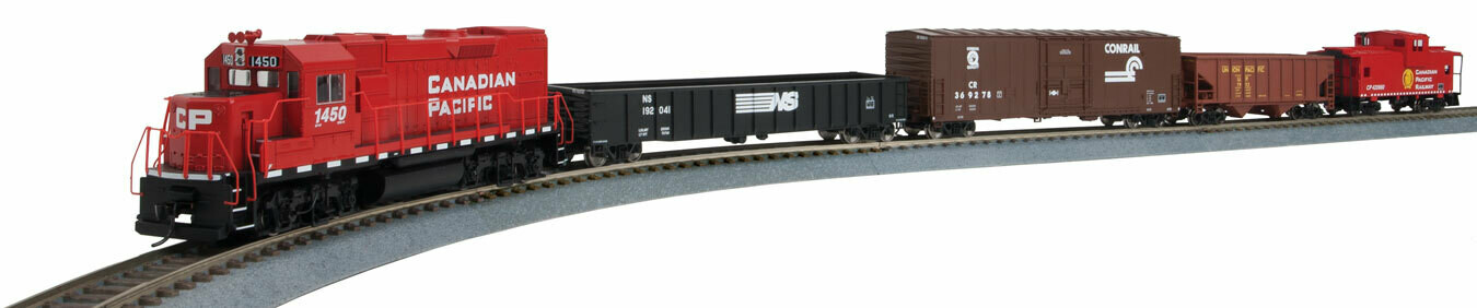 Flyer Express Train Set - Standard DC -- Canadian Pacific