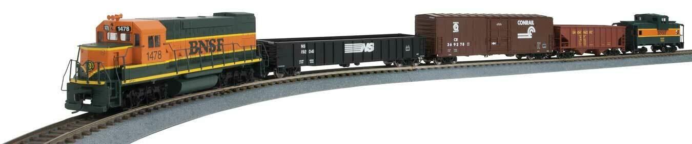 WiFlyer Express Train Set with Sound and DCC -- Burlington Northern Santa Fe