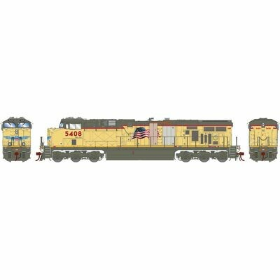 HO ES44AC w/DCC & Sound,UP/Replacement Doors #5408