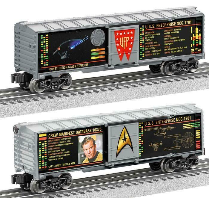 O27 Boxcar, Captain Kirk