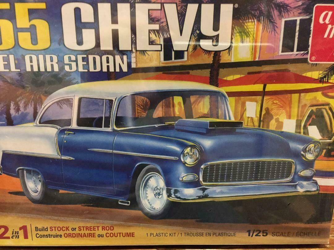 1/25 1955 Chevy Bel Air Sedan