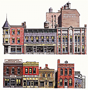 Instant Buildings Main Street Stores