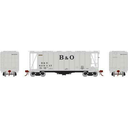 HO GATC 2600 Airslide Hopper, B&O #830117