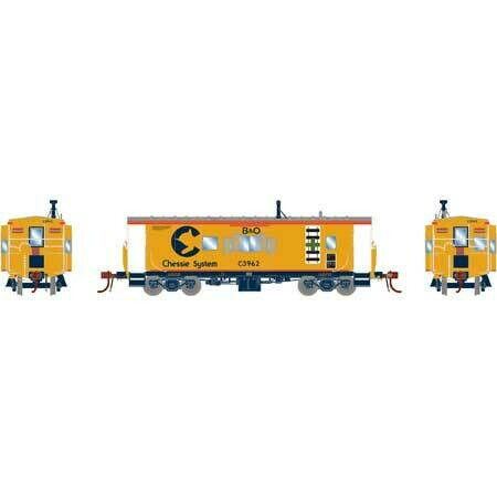 HO ICC Caboose w/Lights, B&O/Chessie #C-3962