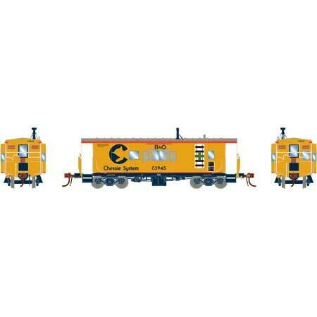HO ICC Caboose w/Lights & Sound,B&O/Chessie#C-3945