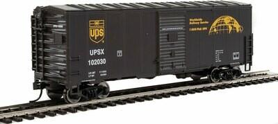 40' Association of American Railroads (AAR) Modernized 1948 Boxcar -- United Parcel Service 3