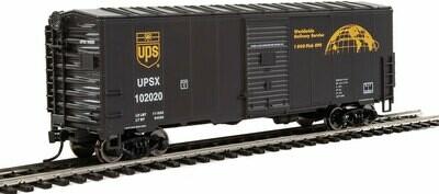 40' Association of American Railroads (AAR) Modernized 1948 Boxcar -- United Parcel Service