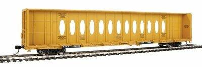 72' Centerbeam Flatcar with Standard Beam - Ready to Run -- Trailer-Train TTZX #86366
